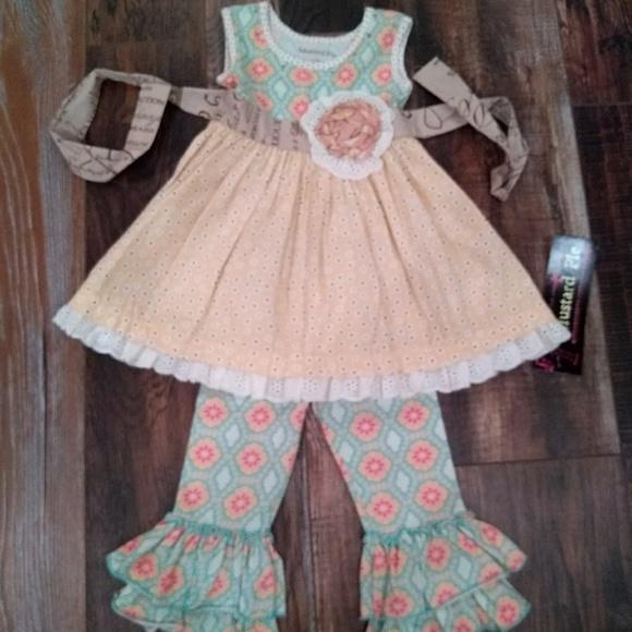 e8c4bd57a264f8 mustard pie Dresses | New Sweet Pea Dress Set 12m | Poshmark